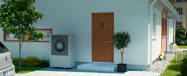 Ivt airx pompa di calore aria acqua geotherm for Costo pompa di calore aria acqua